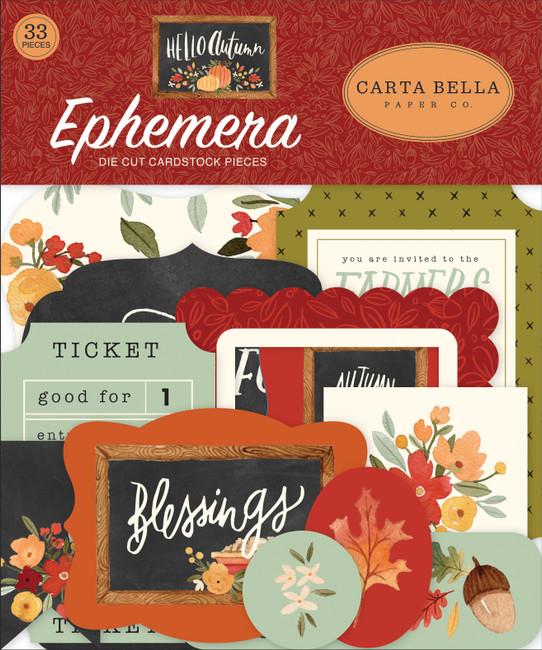 CBHEA122024 - Hello Autumn Ephemera