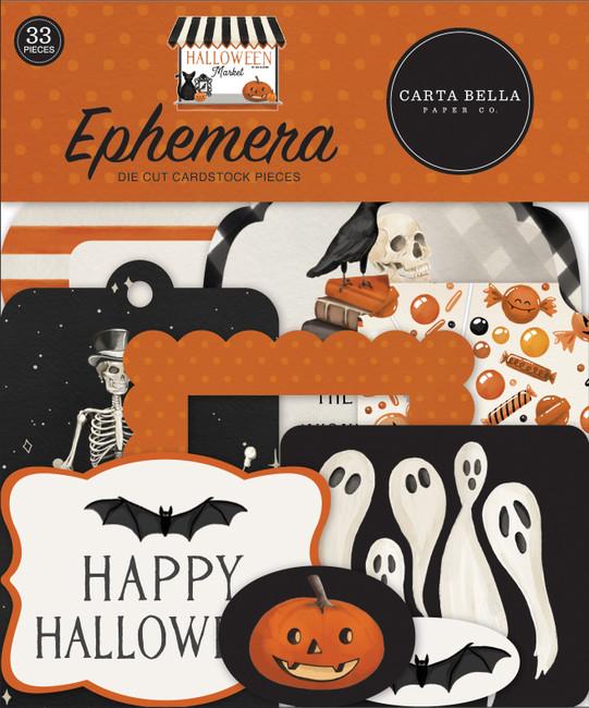 CBHM121024 - Halloween Market Ephemera