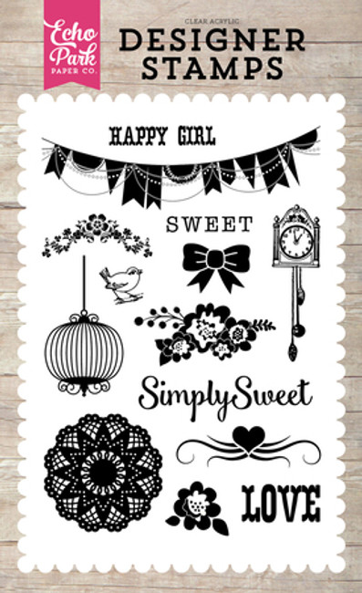 PC103045 - Simply Sweet 4x6 Stamp