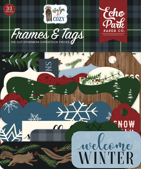 WC194025 - Warm & Cozy Frames & Tags