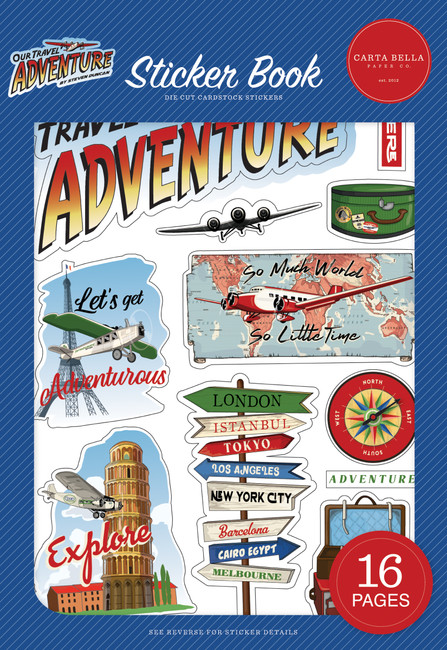 CBOTA131029 - Our Travel Adventure Sticker Book