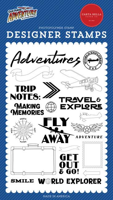 CBOTA131041 - World Explorer Stamp Set