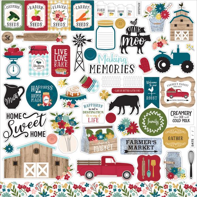 FM248014 - Farmer's Market Element Sticker