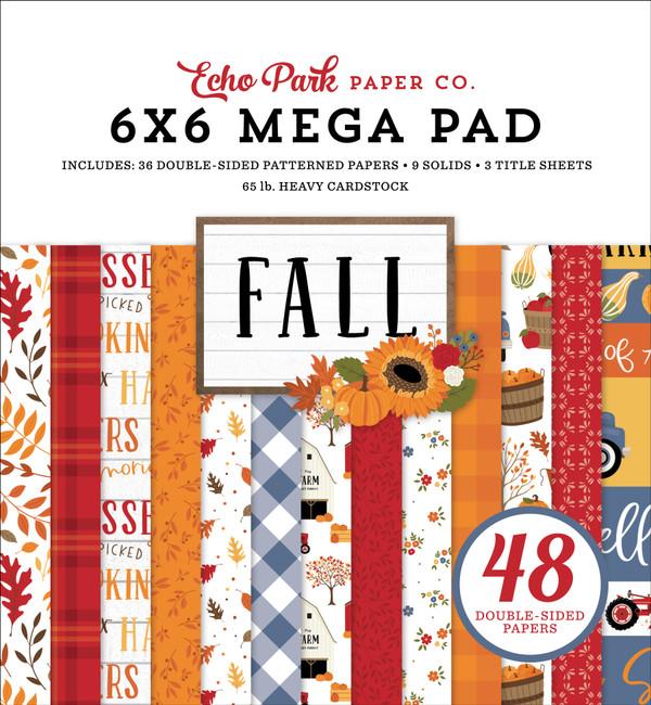FAL251031 - Fall Cardmakers 6x6 Mega Pad