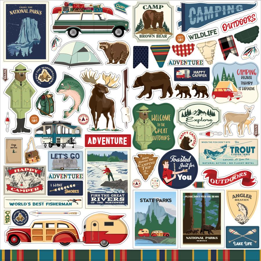 CBOA134014 - Outdoor Adventures Element Sticker