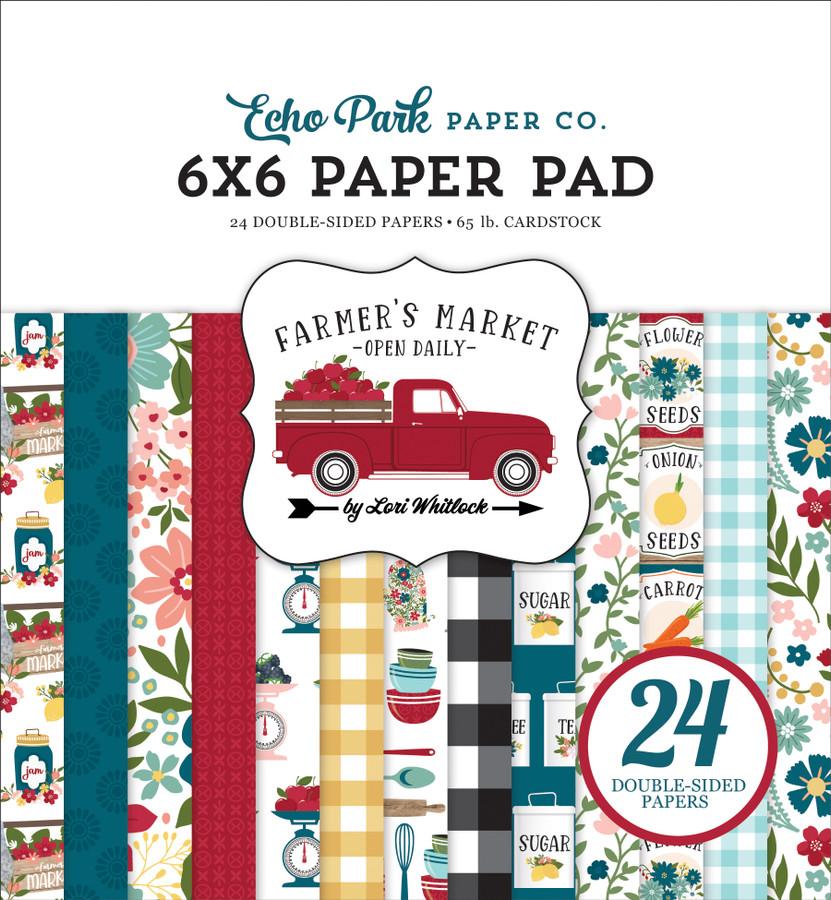 FM248023 - Farmer's Market 6x6 Paper Pad