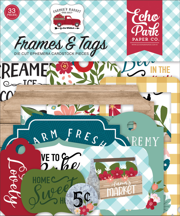 FM248025 - Farmer's Market Frames & Tags
