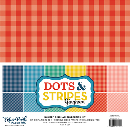 Dots & Stripes Gingham