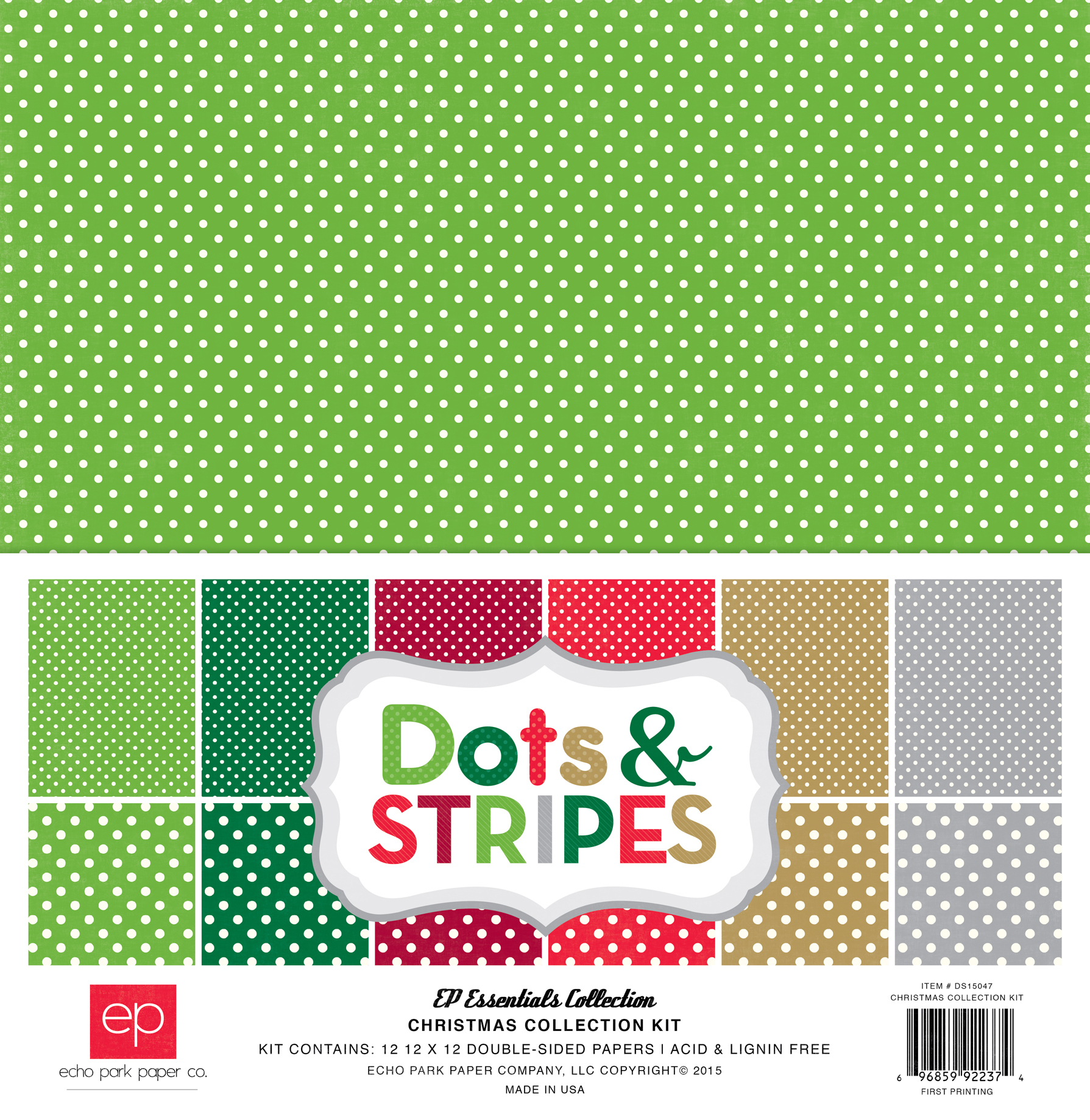 Dots & Stripes Christmas