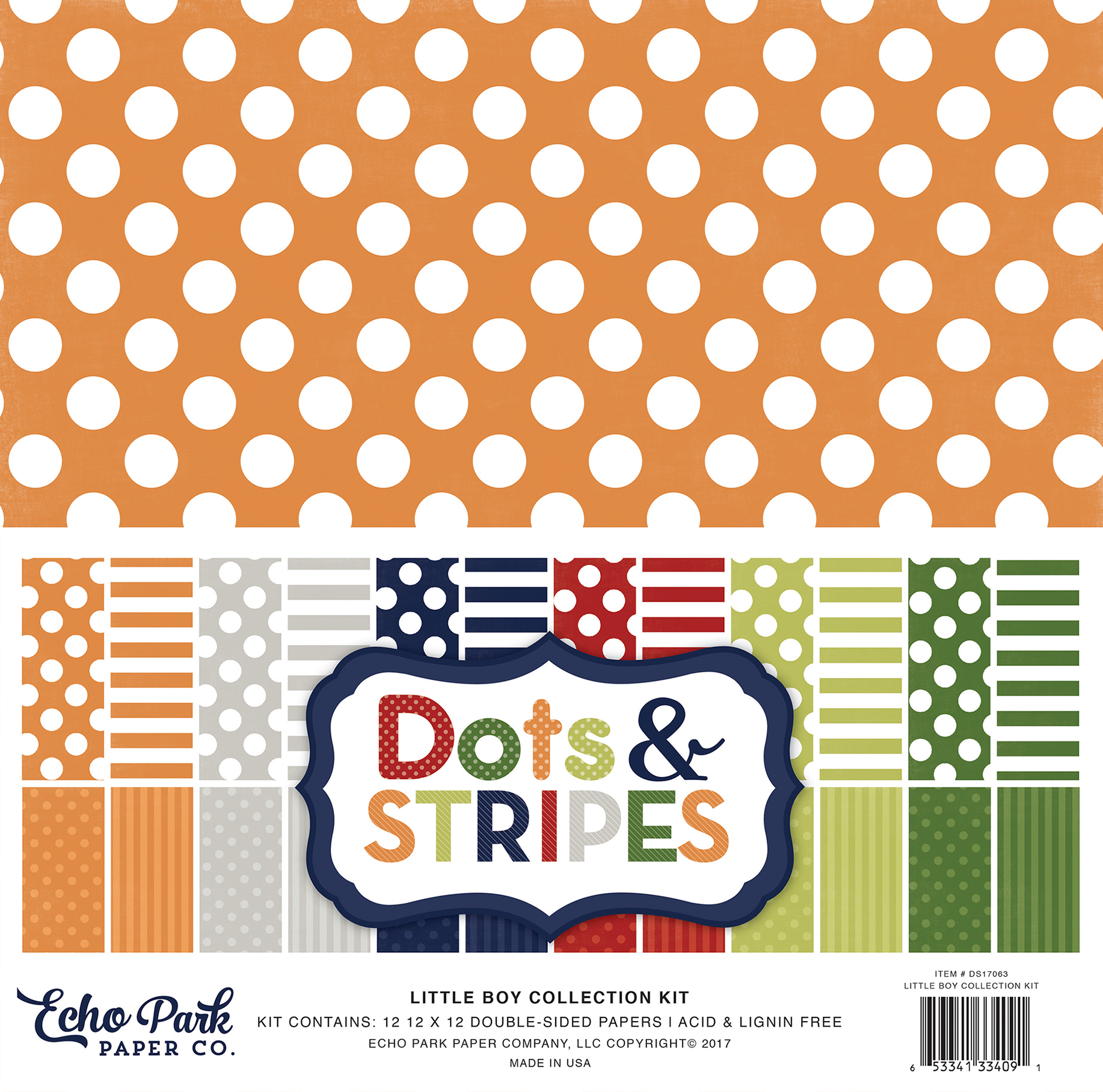 Dots & Stripes Little Boy