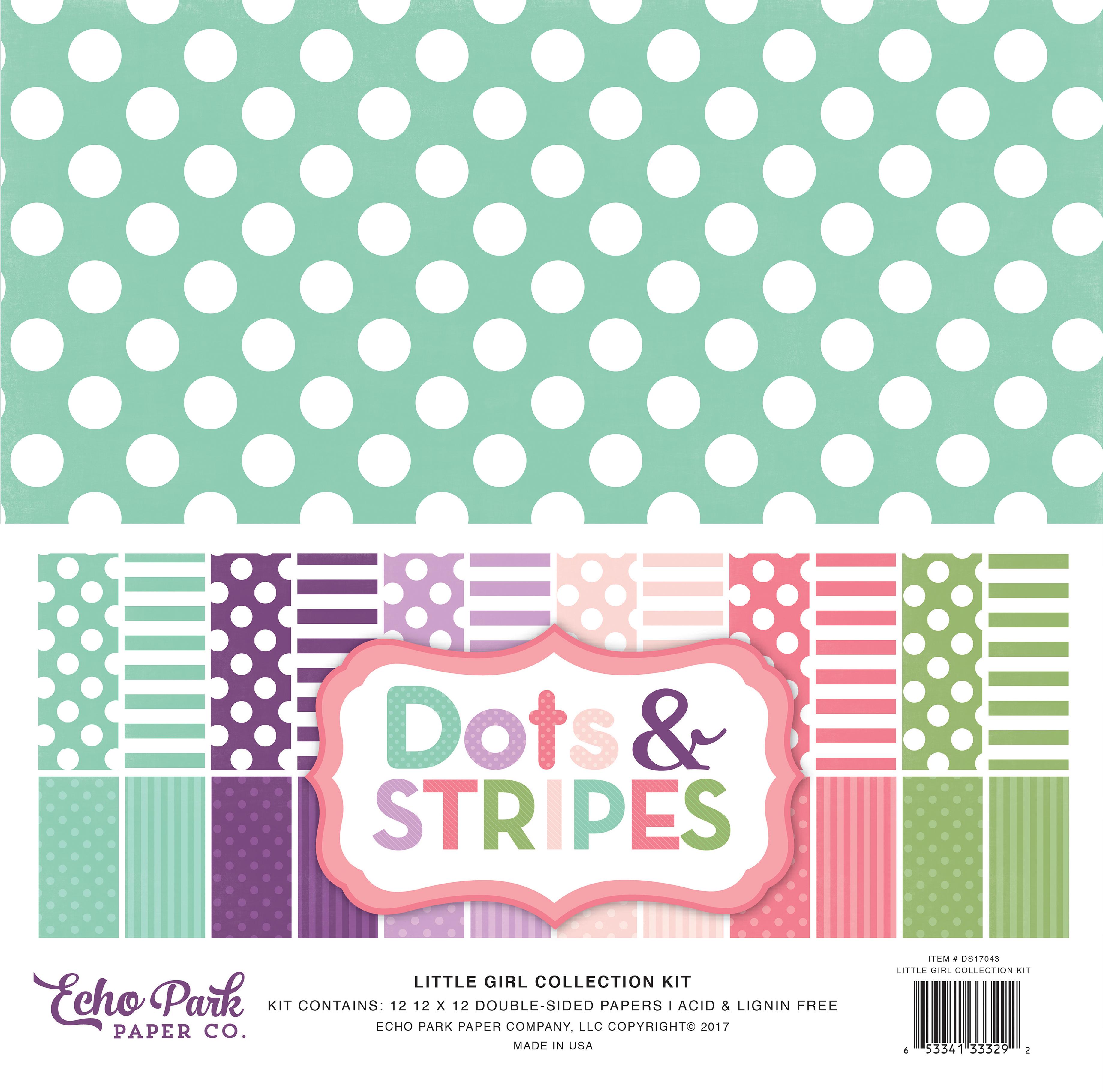 Dots & Stripes Little Girl