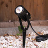 Outdoor 10W LED Spike Light in Black IP65 3000K