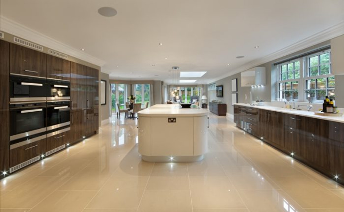 LED strip lights for your kitchen cabinets