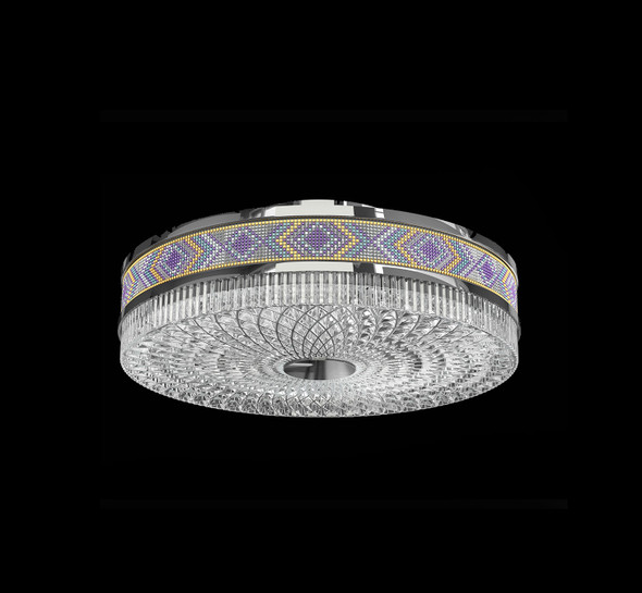 Round LED Flush Light Dimmable and CCT