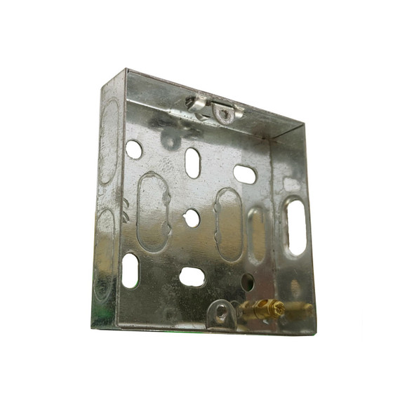 1 Gang 16mm Flush Back Box