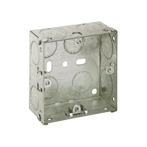 1 Gang 25mm Flush Back Box
