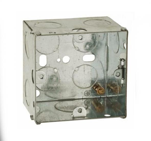 1 Gang 47mm Flush Back Box