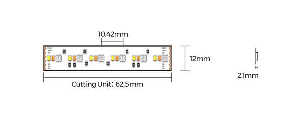 12mm 24V RGB LED Strip 5M