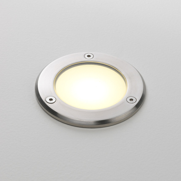 Terra 90 LED in Brushed Stainless Steel