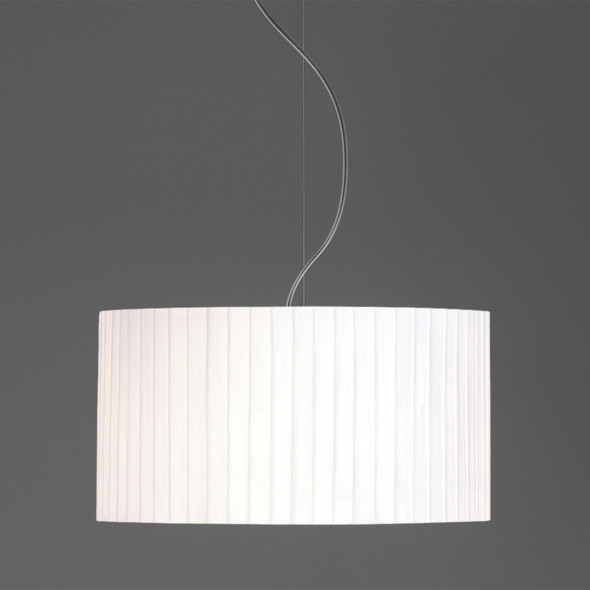 Drum 400 Pleated in White