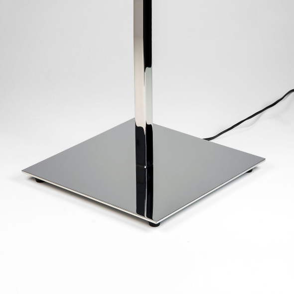 Azumi Table in Polished Nickel