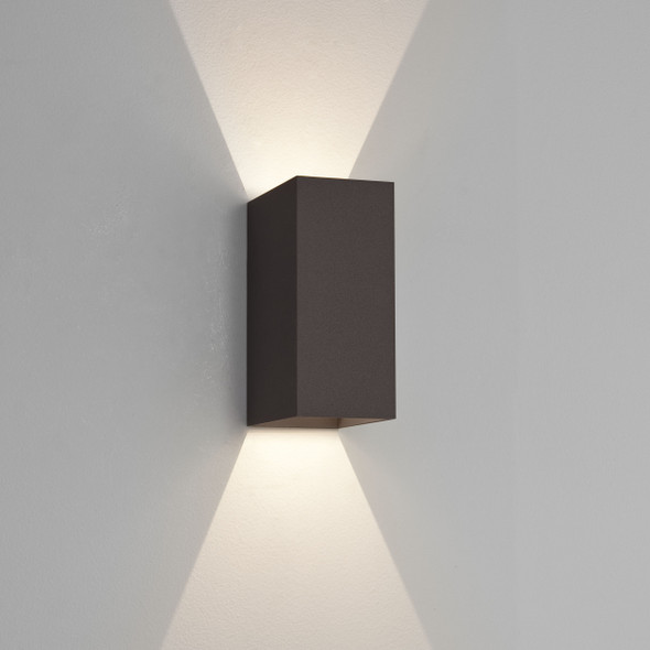 Oslo 160 LED in Textured Black
