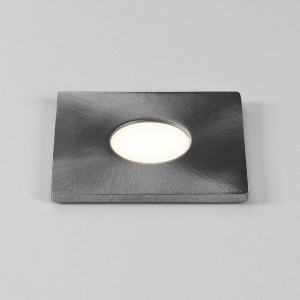 Terra Square 28 LED in Brushed Stainless Steel