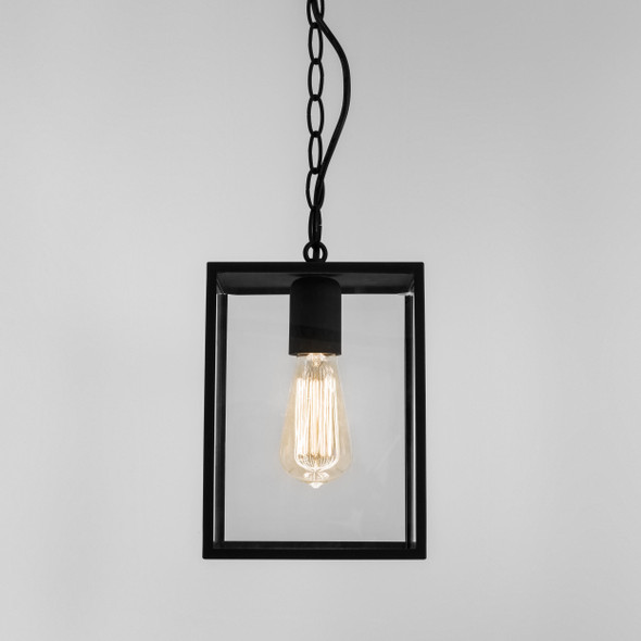 Homefield Pendant 240 in Textured Black