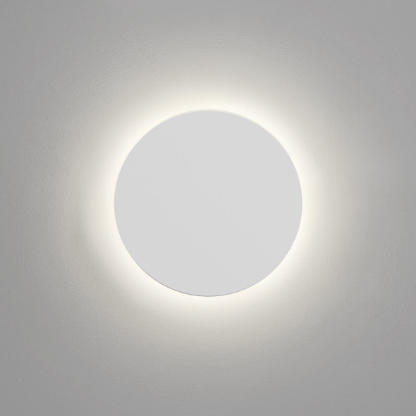 Eclipse Round 250 LED in Plaster