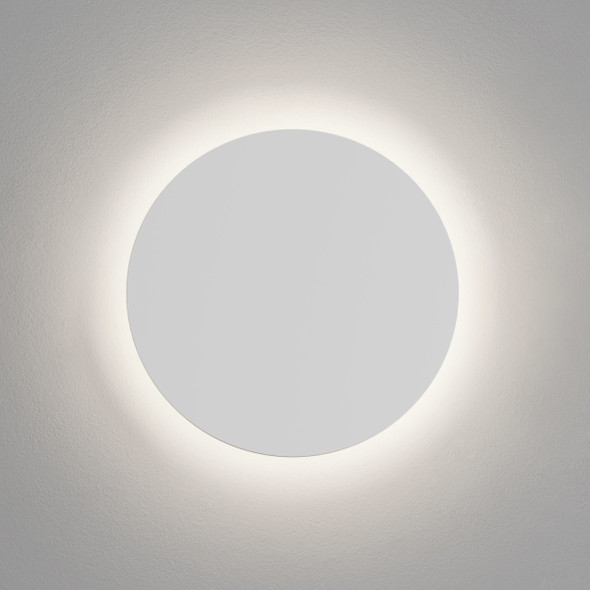 Eclipse Round 350 LED in Plaster