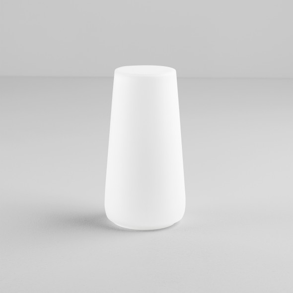 Beauville Glass in White Glass