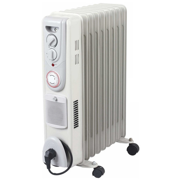 Oil Filled 2kW Radiator Heater with Temperature Control