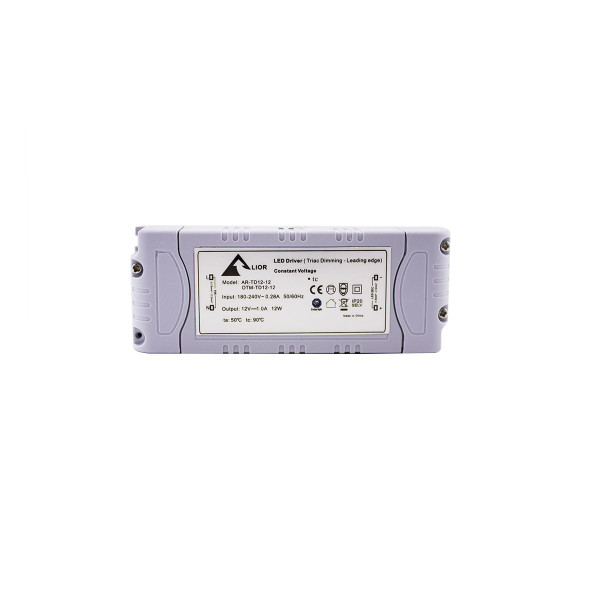12w LED Dimmable Driver 12v Triac - Leading Edge Constant Voltage