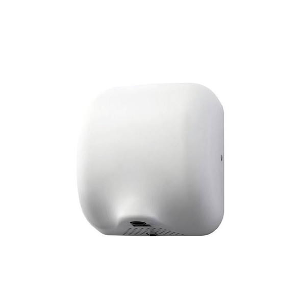 ECO Friendly JET Brushed Stainless Steel Fast Hand Dryer 1800W in White