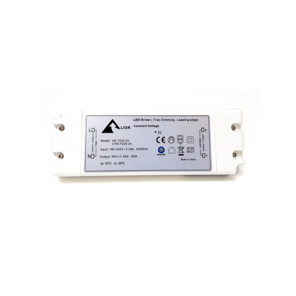 ELED25T/24V LED Triac Dimmable Driver 25w Constant Voltage