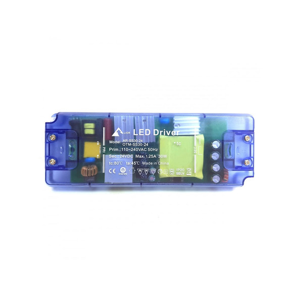 LED2524CV 1-30W 24V DC Non-Dimmable Constant Voltage LED Driver