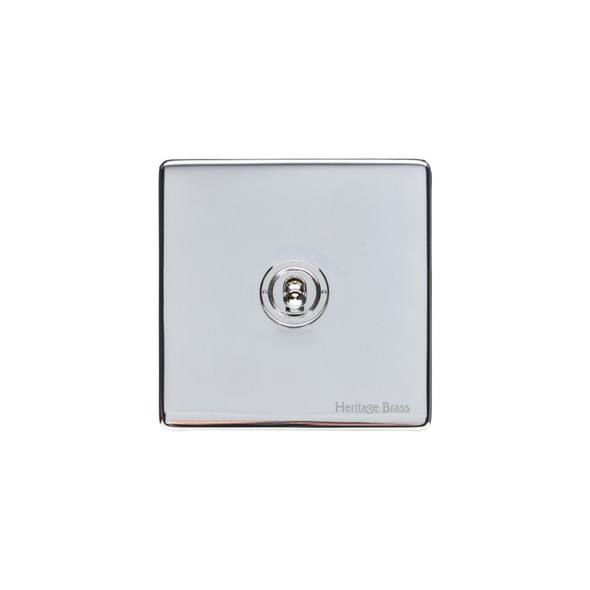 Studio Range 1 Gang Intermediate Dolly Switch in Polished Chrome - Trimless - Y02.2401.PC