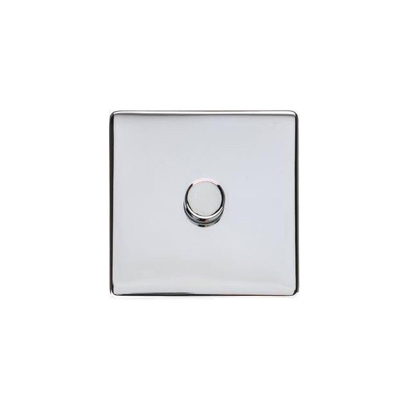 Studio Range 1 Gang Trailing Edge Dimmer in Polished Chrome - Trimless - Y02.260.TED