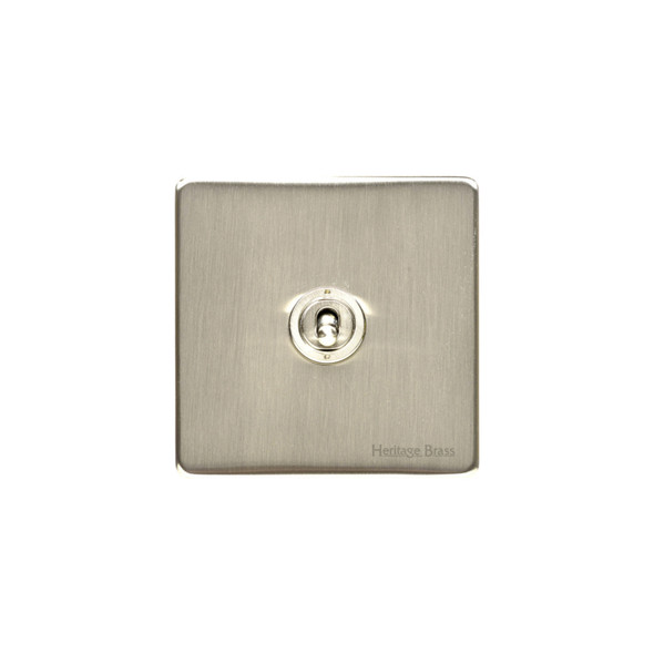 Studio Range 1 Gang Intermediate Dolly Switch in Satin Nickel - Trimless - Y05.2401.SN