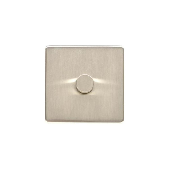 Studio Range 1 Gang Trailing Edge Dimmer in Satin Nickel - Trimless - Y05.260.TED