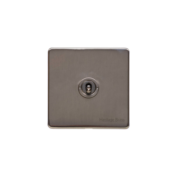 Studio Range 1 Gang Dolly Switch in Polished Bronze - Trimless - Y07.2400.BZ