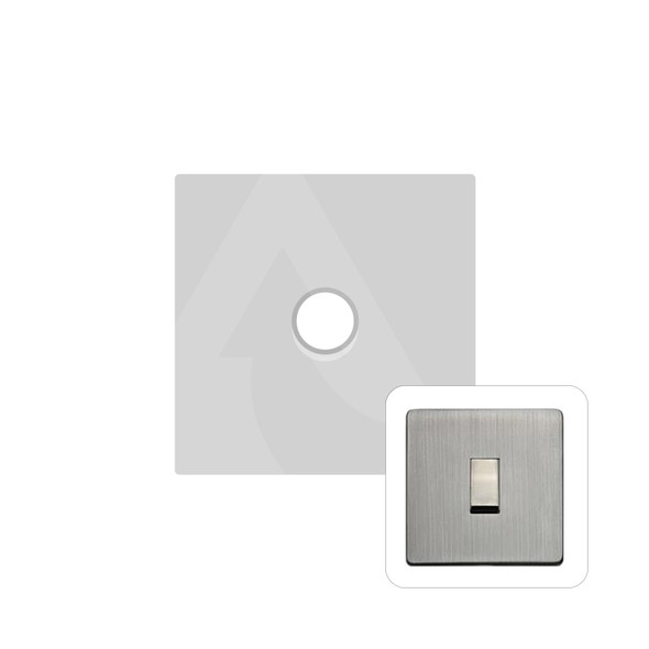 Studio Range 1 Gang Trailing Edge Dimmer in Antique Pewter - Trimless - Y96.260.TED