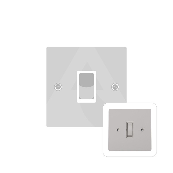 Primed White (Paintable) Range 20 Amp DP Switch in Primed White - White Trim - PW.505.W