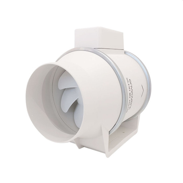 Silent MV 160/100T Ultra Quiet In-Line Duct Fan
