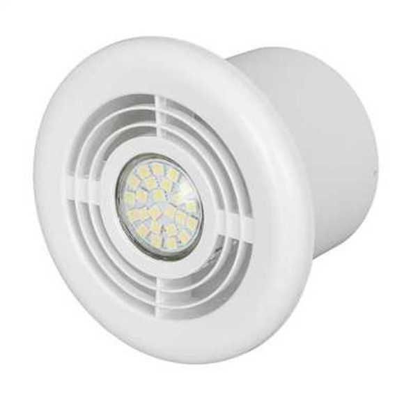 Aura Range Shower Kit Axial In-Line Fan with LED Light