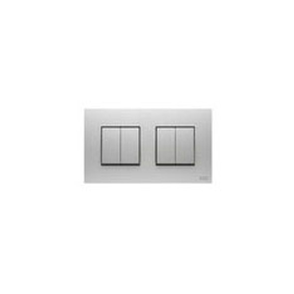 Millenium 4 Gang 2 Way Rocker Switch in Stainless Steel
