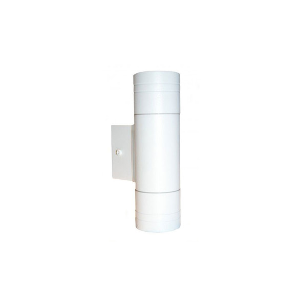 GP-W Outdoor Up Down IP44 GU10 or LED Wall Light in White