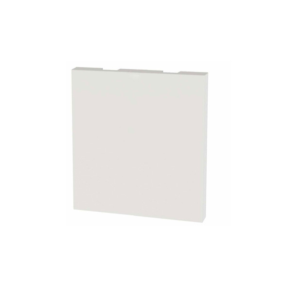 2 Module Euro Blank 50 x 50mm in White