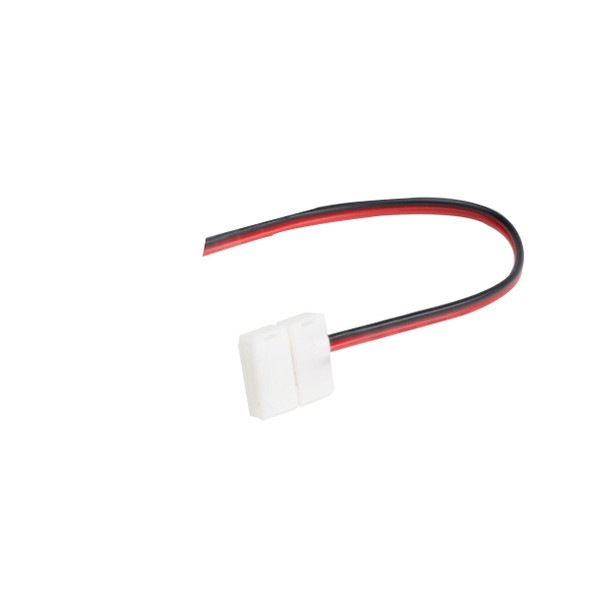 12v 8mm LED Strip Single Ended Connector 130mm