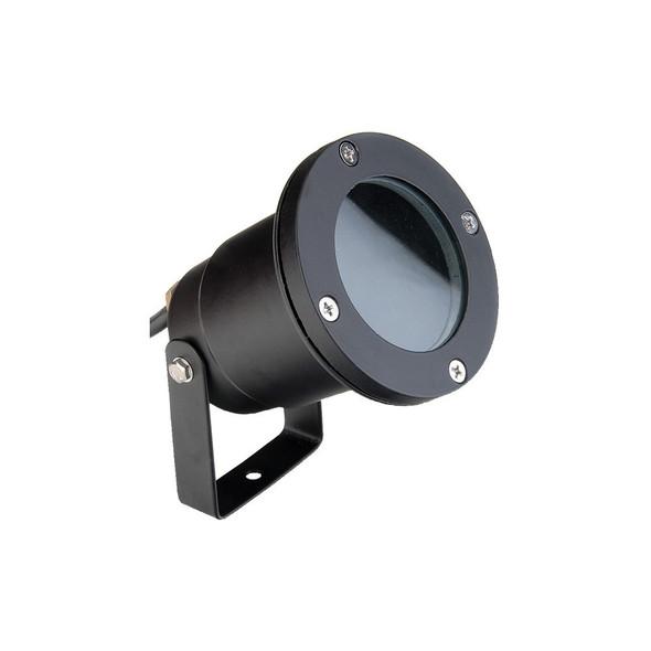 Outdoor Garden Ground Spike Light IP65 GU10 in Black